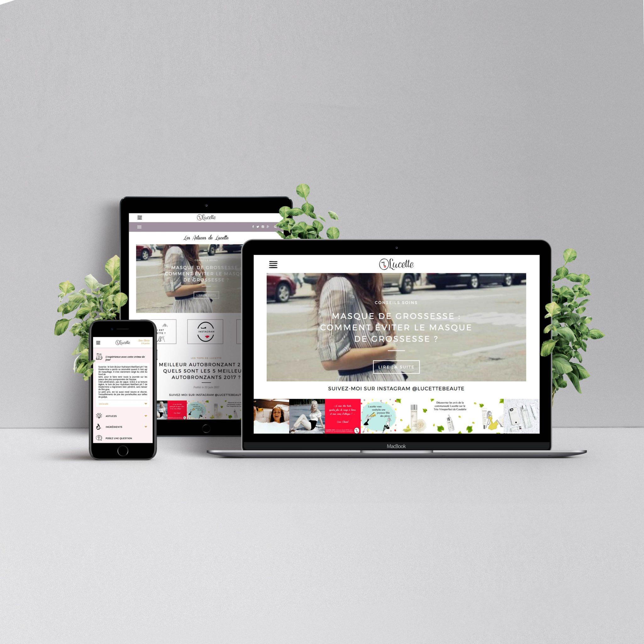 Lucette Web Application