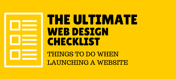 Web Design and Development Checklist
